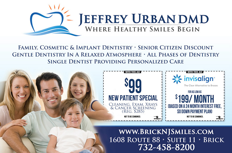 Jeff Urban - New Patient Special