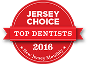 2016 Jersey Choice Top Dentists Logo